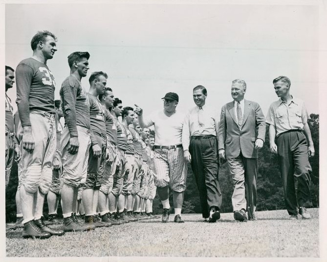 1940 New York Giants Training Camp