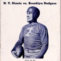 Mel Hein, New York Giants (December 1, 1940)