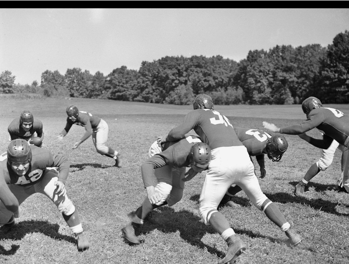 Mel Hein (7), Al Blozis (32), New York Giants (1941)