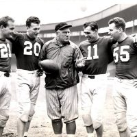Steve Owen, New York Giants, 1941 Pro Bowl