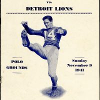 Ward Cuff, New York Giants (November 9, 1941)
