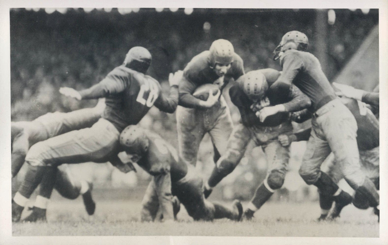 Tuffy Leemans, New York Giants (September 27, 1942)