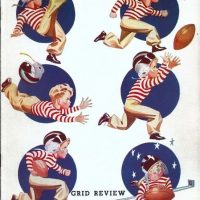 New York Giants - Philadelphia Eagles Game Program (November 8, 1942)