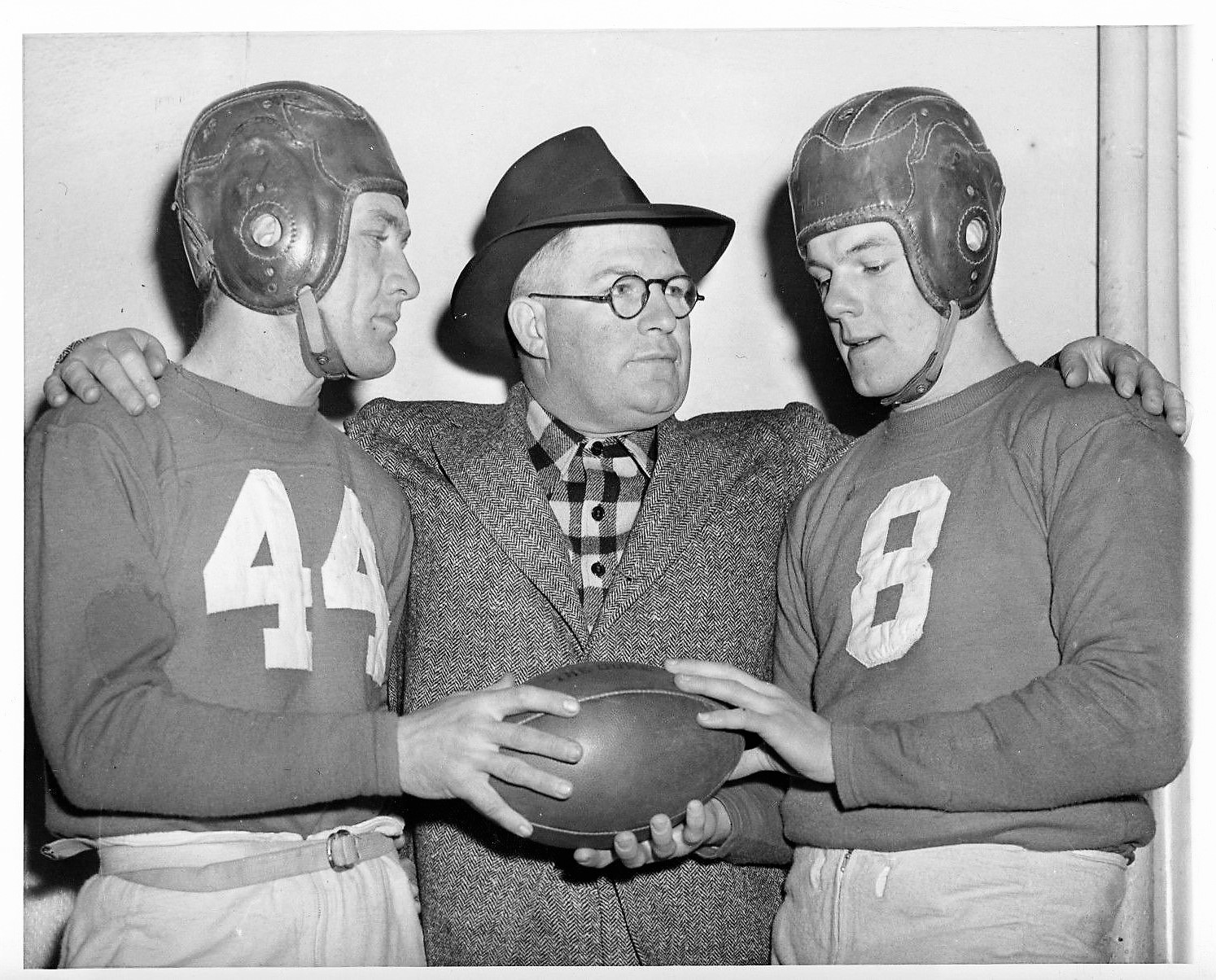 Emery Nix, Steve Owen, Bill Paschal; New York Giants (1943)