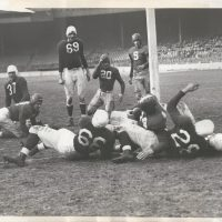 Ward Cuff scores, New York Giants (November 21, 1943)