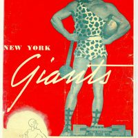 Green Bay Packers at New York Giants, 1944 NFL Championship Game Program (December 17, 1944)