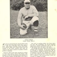Steve Owen, New York Giants (December 17, 1944)