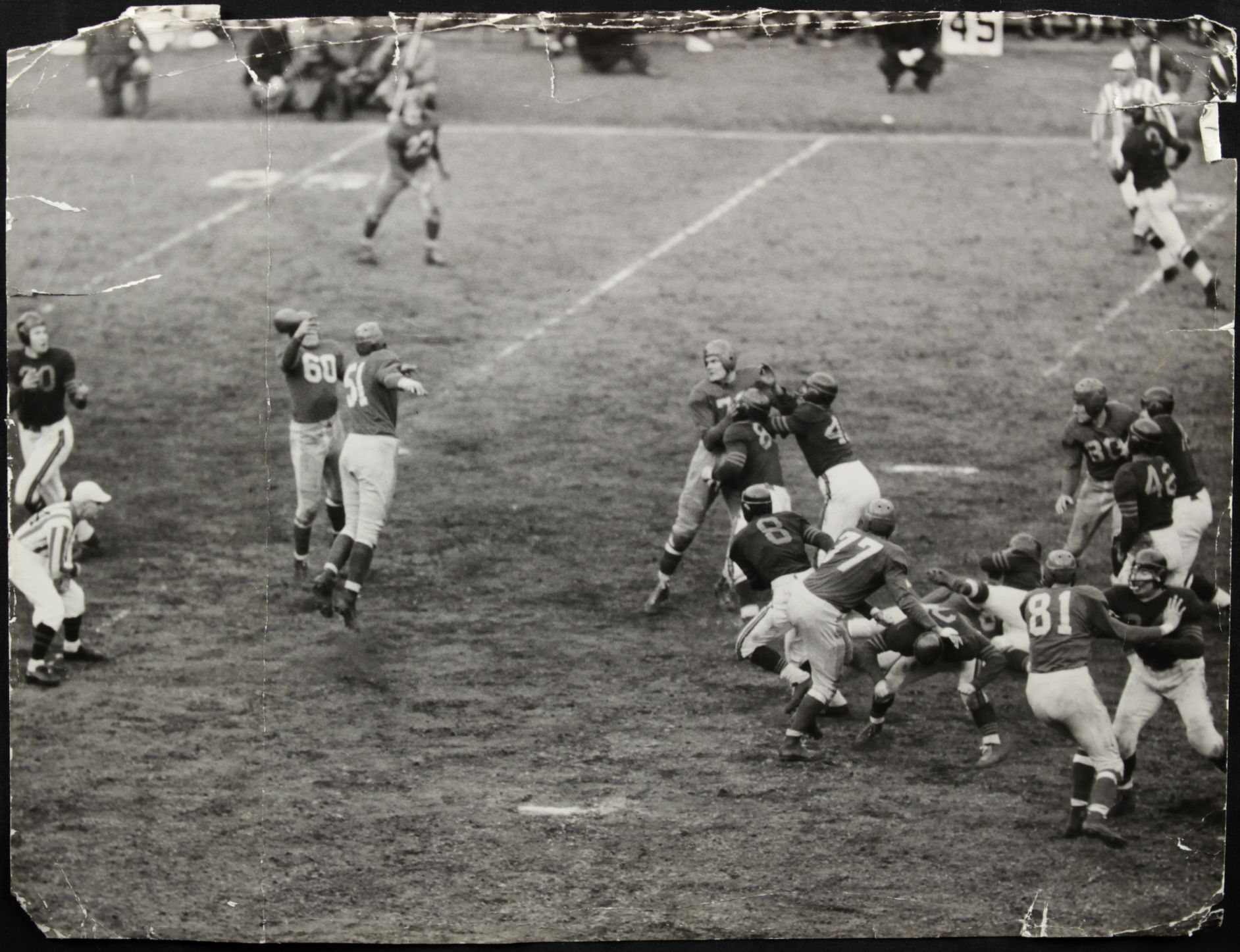 Chicago Bears at New York Giants (October 27, 1946)