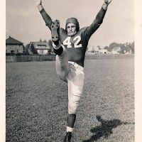 Charlie Conerly, New York Giants Training Camp (1948)