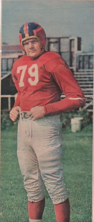 "DeWitt ""Tex"" Coulter, New York Giants (1948)"