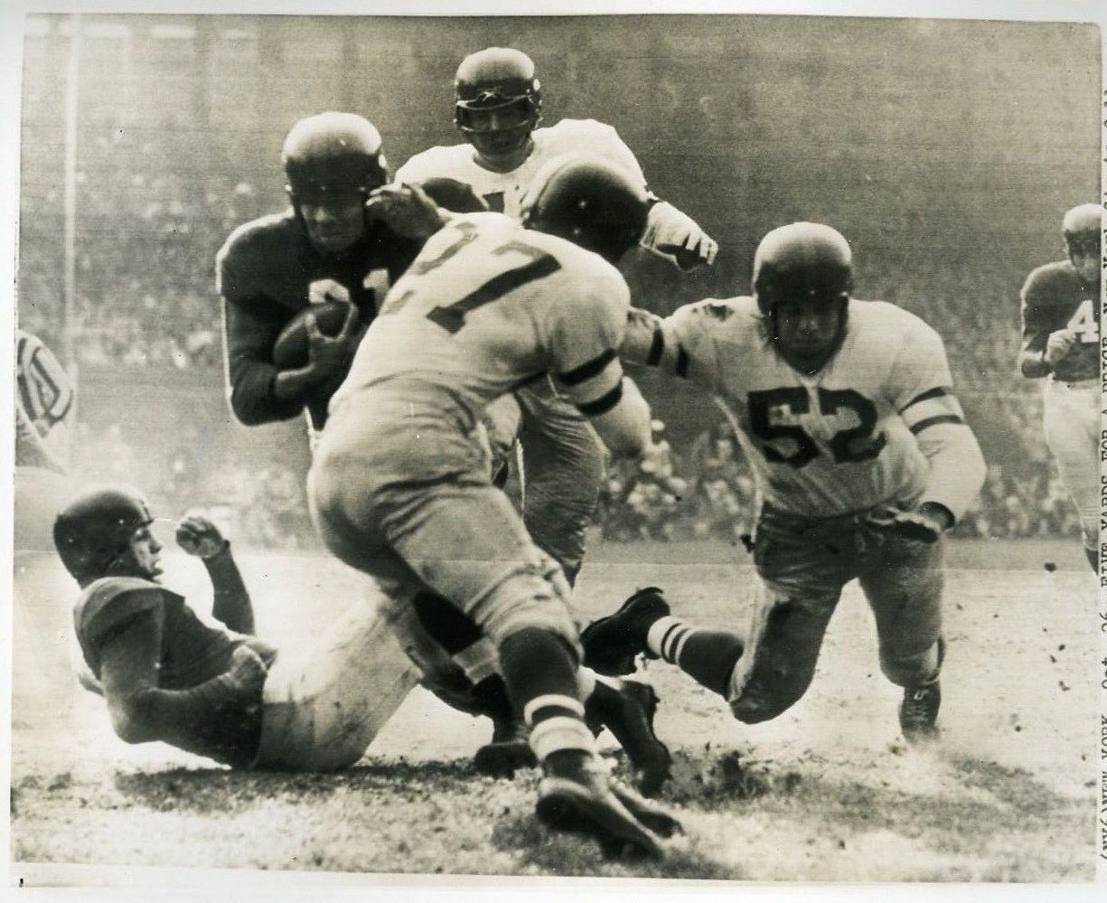 Eddie Price, New York Giants (October 26, 1952)