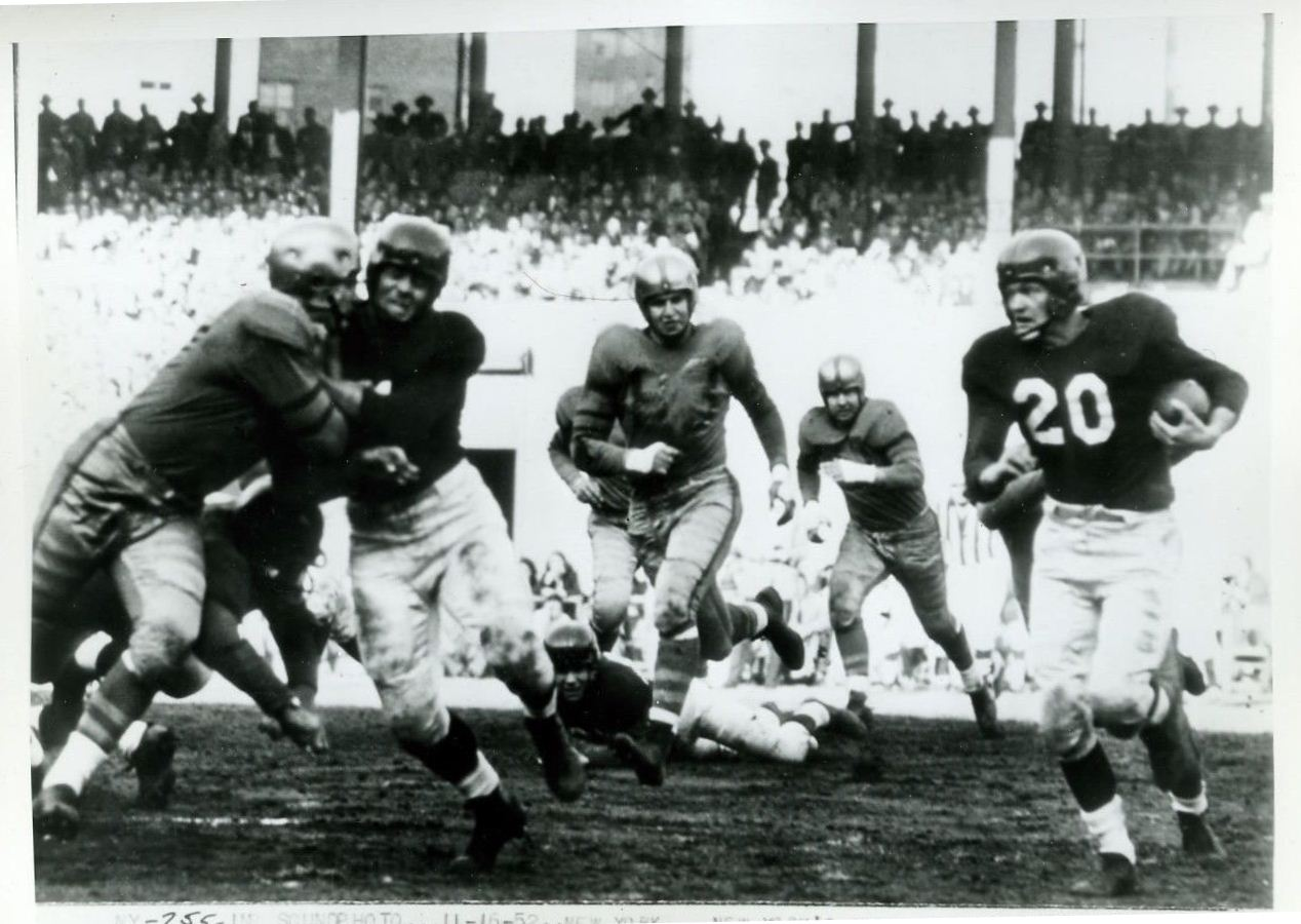 George Thomas (20), New York Giants (November 16, 1952)