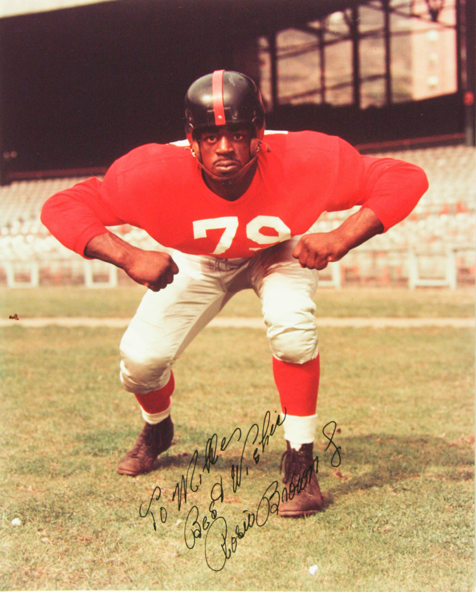 Rosey Brown, New York Giants (1952)