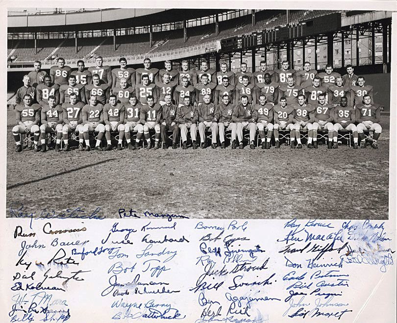 1954 New York Giants