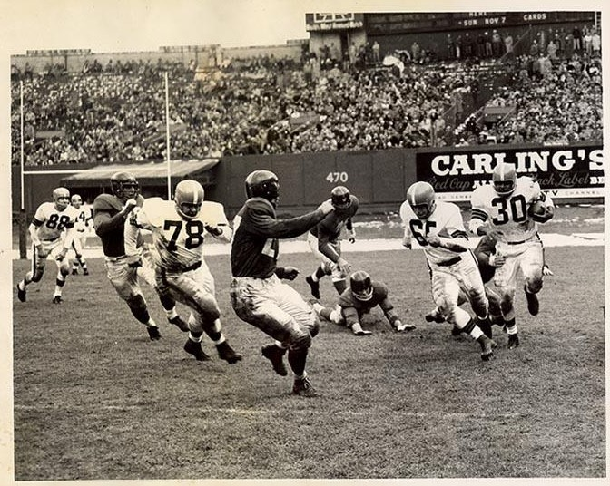 New York Giants at Cleveland Browns (October 31, 1954)