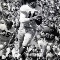 Frank Gifford, New York Giants (August 14, 1954)