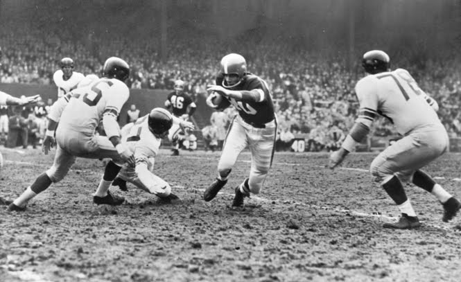 Cleveland Browns at New York Giants (November 28, 1954)