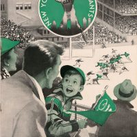 New York Giants - Philadelphia Eagles Game Program (November 20, 1955)