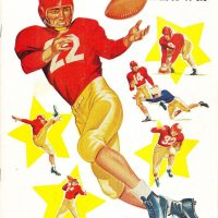 New York Giants - San Francisco 49ers Game Program (August 20, 1955)