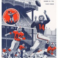 1956 NFL Championship Game Program