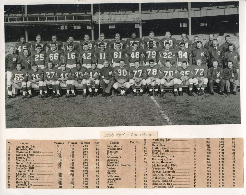 1956 New York Giants