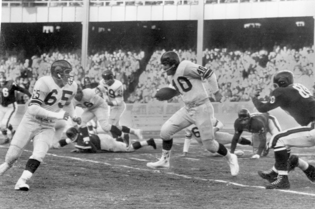 Gene Filipski (40), New York Giants (December 30, 1956)