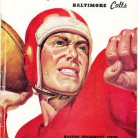 New York Giants - Baltimore Colts Game Program (August 20, 1956)
