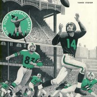 Philadelphia Eagles at New York Giants Game Program (October 28, 1956)