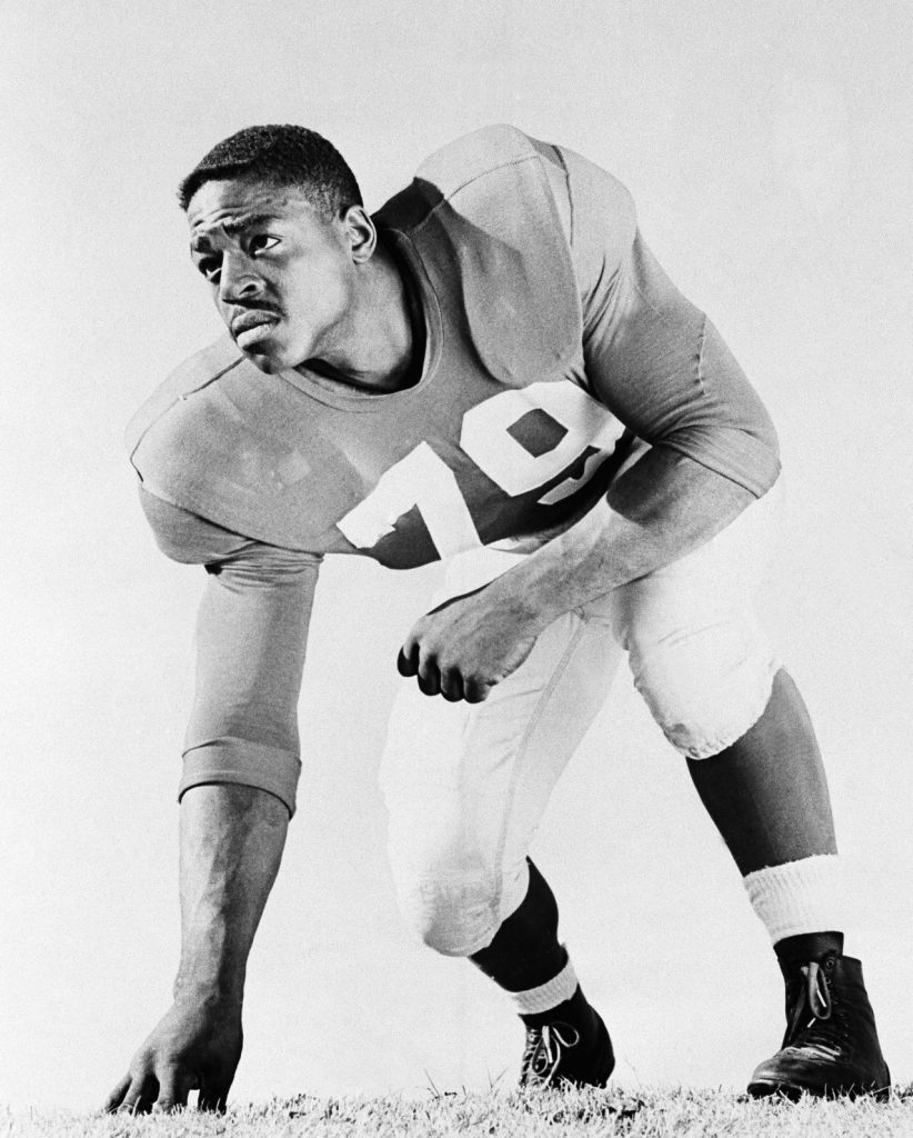 Roosevelt Brown, New York Giants (1956)