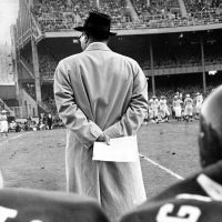 Vince Lombardi, New York Giants (October 28, 1956)