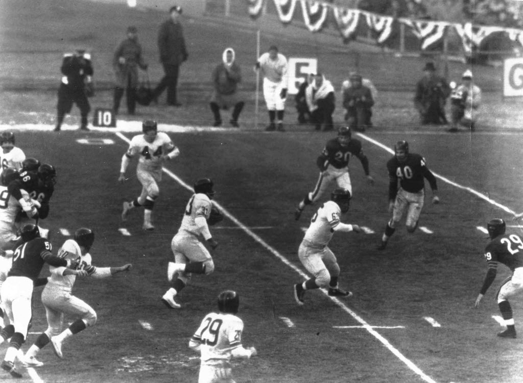 Chicago Bears at New York Giants, December 30, 1956 (1956 NFL Championship)