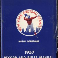 1957 NFL Record and Rules Manual