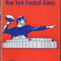 1957 New York Giants Media Guide