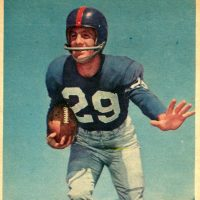 Alex Webster, New York Giants (1957)
