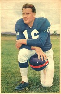 Frank Gifford, New York Giants (1957)