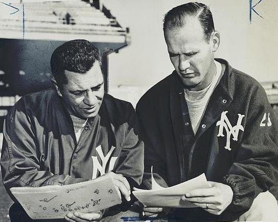 Vince Lombardi and Tom Landry, New York Giants (1958)