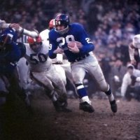 Alex Webster, New York Giants (December 6, 1959)