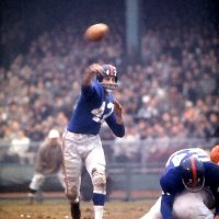 Charlie Conerly, New York Giants (December 6, 1959)