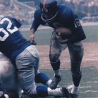 Frank Gifford (16), New York Giants (November 29, 1959)