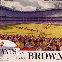 New York Giants Game Program (December 6, 1959)