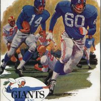 New York Giants Game Program (November 5, 1961)