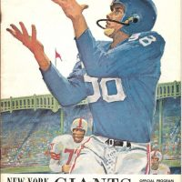 New York Giants Game Program (October 14, 1962)