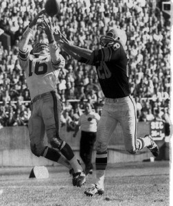 Frank Gifford, New York Giants at Pittsburgh Steelers (September 30, 1962)