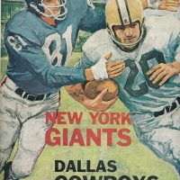 New York Giants Game Program (October 20, 1963)