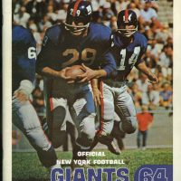 1964 New York Giants Yearbook
