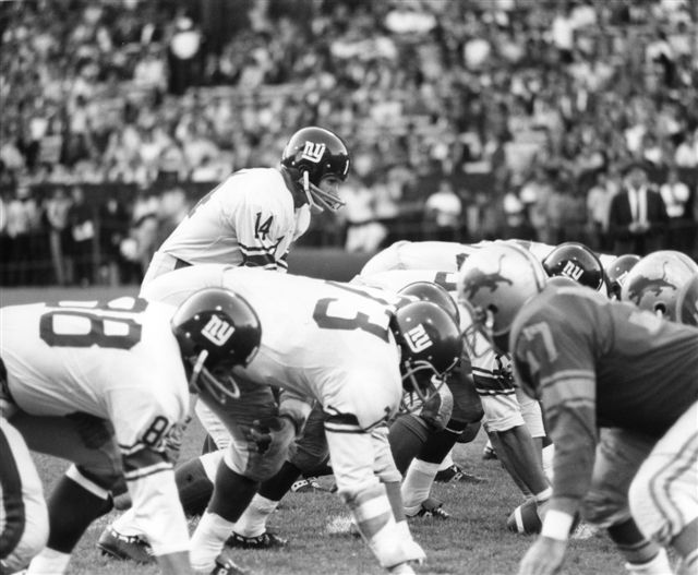 New York Giants at Detroit Lions (October 4, 1964)
