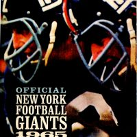 1965 New York Giants Yearbook