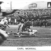 Earl Morral, New York Giants (December 19, 1965)