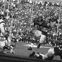 Chuck Mercein (29), New York Giants (October 16, 1966)