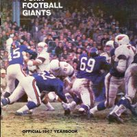 1967 New York Giants Yearbook